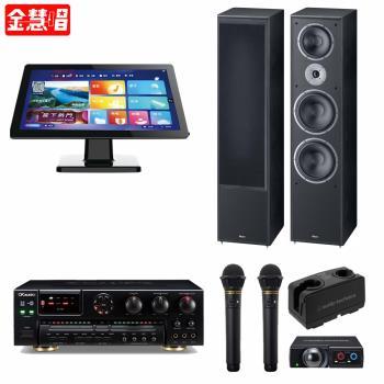 金慧唱NOTE PLUS V2.0/21.5吋點歌面板4TB+SA-700+AT-CLM9000TX 771+Monitor Supreme 2002