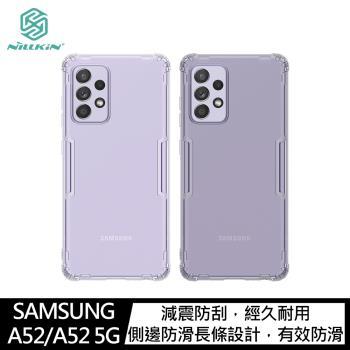 NILLKIN SAMSUNG Galaxy A52/A52 5G 本色TPU軟套(#手機殼 #保護殼 #保護套 #四角氣囊 #防摔)
