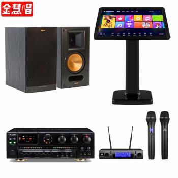 金慧唱 NOTE PLUS V2.0/21.5吋點歌面板4TB+SA-700+JBL VM300+RB-61 II