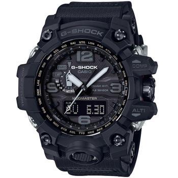 CASIO 卡西歐G-SHOCK MUDMASTER極限大陸電波太陽能腕錶(GWG-1000-1A1)