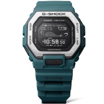 CASIO G-SHOCK 藍牙連線功能衝浪好手海上運動錶(GBX-100-2)