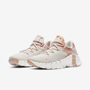 Nike 訓練鞋 Free Metcon 4 運動 女鞋 健身房 支撐 穩定 包覆 重訓 球鞋 淺卡其 粉 DJ3075064 [ACS 跨運動]
