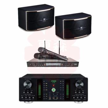 商用空間 FNSD A-250 擴大機+DoDo Audio SR-889PRO 麥克風+JBL Pasion 8 喇叭