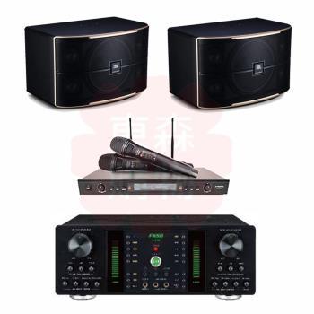 商用空間 FNSD A-250 擴大機+DoDo Audio SR-889PRO 麥克風+JBL Pasion 10 喇叭