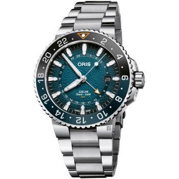Oris豪利時 Aquis 鯨鯊限量腕錶 0179877544175-Set
