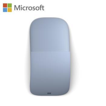 Microsoft 微軟 Surface Arc Mouse 滑鼠 (淺灰/冰雪藍/罌粟紅)