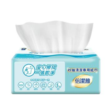 【PASEO 倍潔雅】秒抽清潔專用紙巾200抽20包/箱