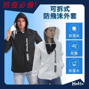 現貨寄出【防疫必買外套】加強防護防疫外套 四色-HeHa