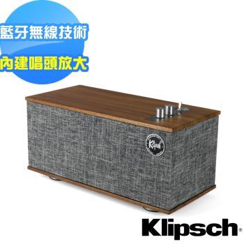 【美國Klipsch】藍牙喇叭-可連接黑膠唱盤 The One II Phono+送LASKO車用清淨機