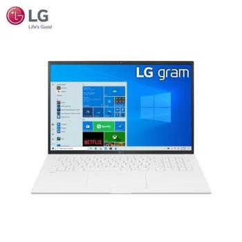 LG gram 17吋 輕薄筆電 白(i5-1135G7/16G/512G SSD/W10/WQXGA/17)17Z90P-G.AA54C2