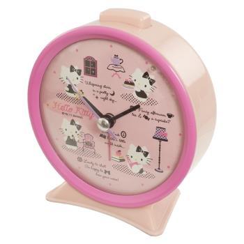 HELLO KITTY桌上型時鐘鬧鐘 373071【卡通小物】
