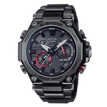 CASIOG-SHOCK MTG-B2000BDE-1A 藍牙多功能電波錶