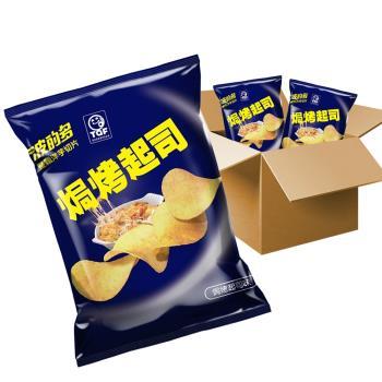 華元 波的多洋芋片-焗烤起司風味(43gX10包入/箱)