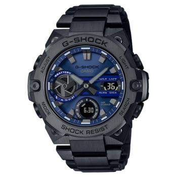 CASIO G-SHOCK 太陽能藍芽雙顯腕錶 GST-B400BD-1A2