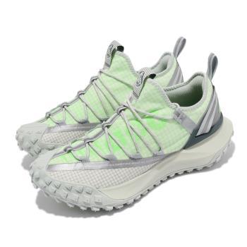 Nike 戶外鞋 ACG Mountain Fly 男女鞋 襪套 都市機能 反光 情侶穿搭 簡約 綠 灰 DJ4030001 [ACS 跨運動]