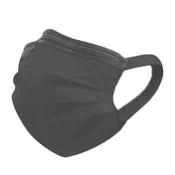 【神煥】黑色 成人醫療口罩50入/盒 (未滅菌)專利可調式無痛耳帶設計 台灣製