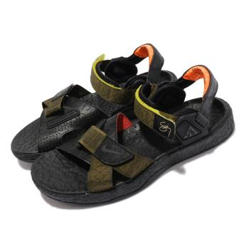 Nike 涼鞋 ACG Air Deschutz SZ 男鞋 經典潮流 戶外 夏日穿搭 黑 綠 DH1039300 [ACS 跨運動]