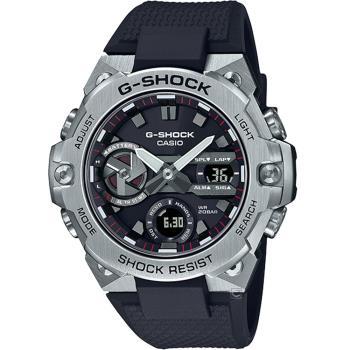 CASIO G-SHOCK 太陽能碳纖維核心防護藍牙功能錶(GST-B400-1A)