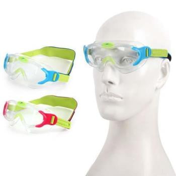 SPEEDO 男女幼童進階面罩泳鏡 -游泳 蛙鏡 抗UV 訓練 兒童