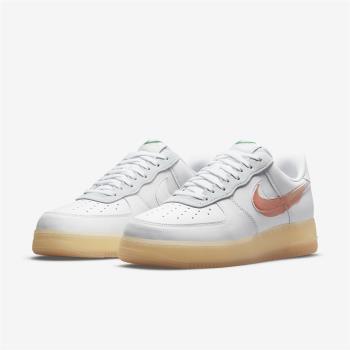 Nike 休閒鞋 Air Force 1 聯名 運動 男鞋 Flyleather 手繪塗鴉 球鞋穿搭 白 橘 DB3598100 [ACS 跨運動]