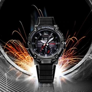 CASIO G-SHOCK 太陽能藍芽雙顯腕錶 GST-B300-1A
