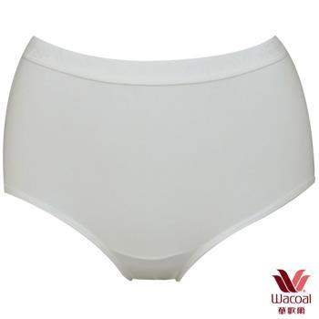 【華歌爾】新伴蒂-S型 中腰M-LL機能內褲6件組(純淨白)