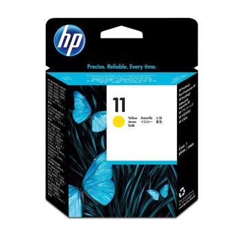 HP NO.11 C4813A 黃色 原廠列印頭 適用 70/100/110+/111/500/510/800/1100/1200/2300/9100