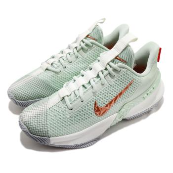 Nike 籃球鞋 Ambassador XIII 運動 男鞋 明星款 LBJ 氣墊 避震 包覆 球鞋 綠 米白 CQ9329300 [ACS 跨運動]