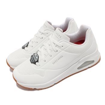 Skechers 休閒鞋 Uno SR 防滑 工作鞋 女鞋 氣墊 耐油 光滑耐用合成鞋面 白 108021-WHT [ACS 跨運動]