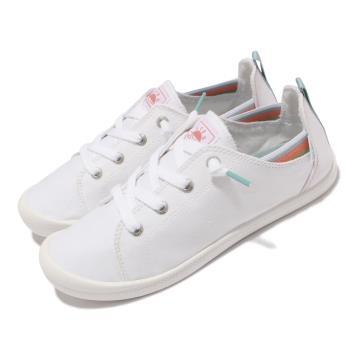 Skechers 休閒鞋 Beach Bingo 套入式 帆布 女鞋 後跟可踩 緩衝 可機洗 BOBS 白 113998-WHT [ACS 跨運動]