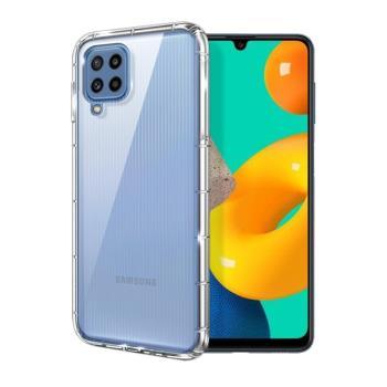 Xmart for 三星 Samsung Galaxy M32 加強四角防護防摔空壓氣墊殼