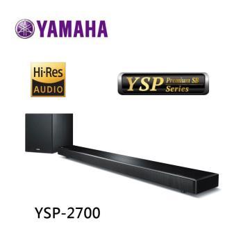 (整新福利品) YAMAHA 山葉 YSP-2700 SOUNDBAR 單件式環繞音響 公司貨