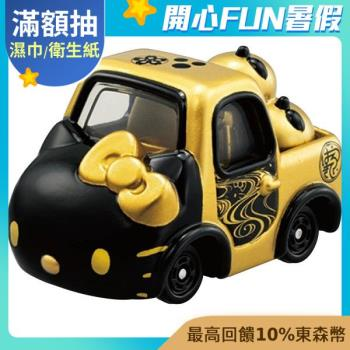 TOMICA Dream Hello Kitty 和服系列-黑 TM16683 多美小汽車