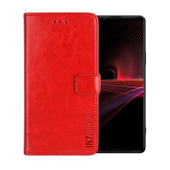 IN7 瘋馬紋 SONY Xperia 1 III (6.5吋) 錢包式 磁扣側掀PU皮套 吊飾孔 手機皮套保護殼
