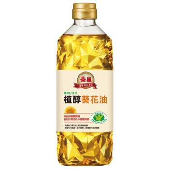 泰山 健康好理由植醇葵花油 600ml/瓶