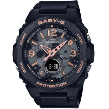 CASIO 卡西歐 Baby-G 花朵系列手錶(BGA-260FL-1A)