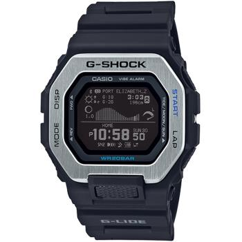 CASIO 卡西歐 G-SHOCK 藍芽連線潮汐衝浪運動錶/GBX-100-1