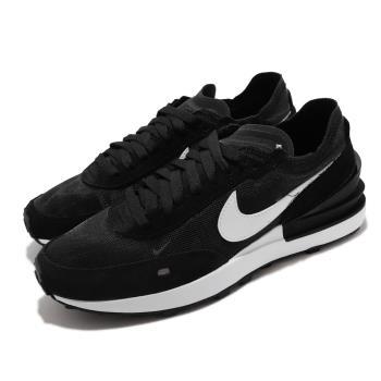 Nike 休閒鞋 Waffle One 運動 女鞋 小Sacai 透明網布 麂皮 球鞋 穿搭 黑 白 DC2533-001 [ACS 跨運動]