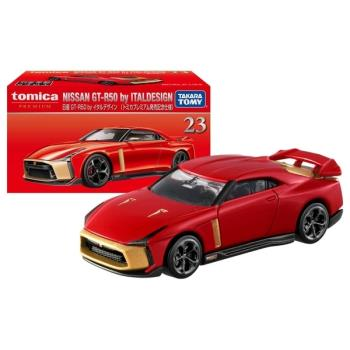 TOMICA PREMIUM 23 日產GTR 50 ITAL design初回 TM17601 多美小汽車