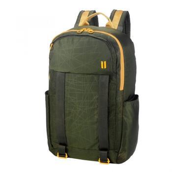 SUMDEX 樂.遊 防盜空間綠色後背包 NOD-612RG