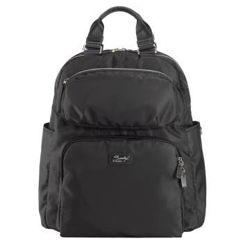 SUMDEX 14.1吋+10吋平板 行動兩用電腦後背包NON-735BK黑色
