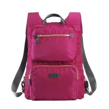 NOA-724AM  SUMDEX 貼身輕巧薄型桃色後背包