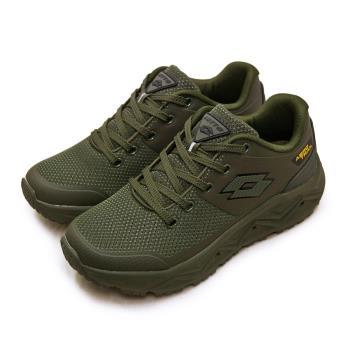 【LOTTO】男 專業郊山戶外透氣越野跑鞋 AERO TRAIL系列(軍綠 3605)