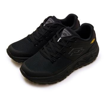 【LOTTO】男 專業郊山戶外透氣越野跑鞋 AERO TRAIL系列(黑灰 3600)