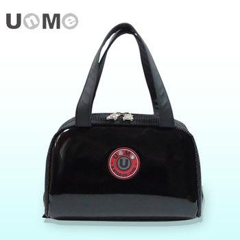 任-UnMe可愛立體輕巧餐袋/鏡黑