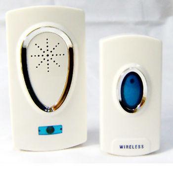 防水插電型無線遙控門鈴 D3925