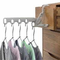 日本AISEN 室內機能5連勾曬衣架