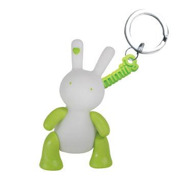 【BabyTiger虎兒寶】giimmo魔幻七彩玩伴LED鑰匙圈-兔子雷蒙Lemon