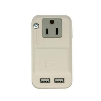 安全達人 3P分接式插座+2個USB充電座(RU-68)