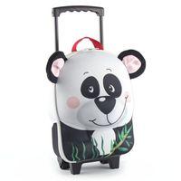 德國 okiedog 兒童3D動物造型系列-拉桿式行李箱(熊貓)